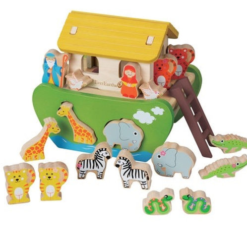 Shape Sorting Noah's Ark