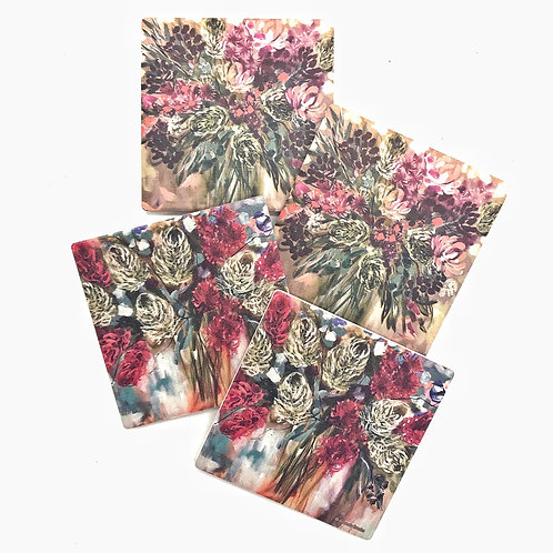Coasters by Amanda Brooks - Set of 4