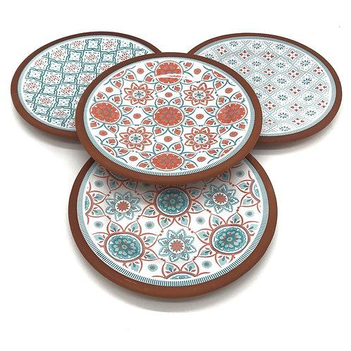 Assorted Amore Capri Plates