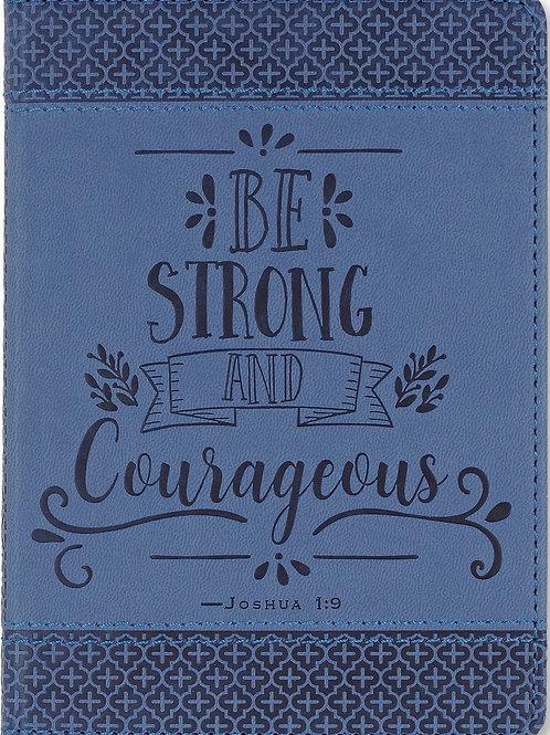 Be Strong & Courageous Artisan Journal