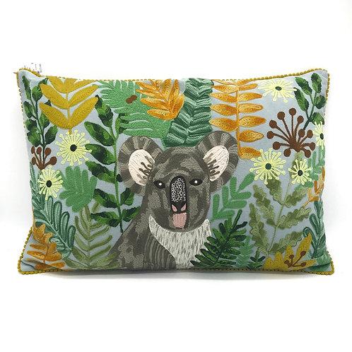 Eucalyptus Koala Cushion By Ruby Star Traders