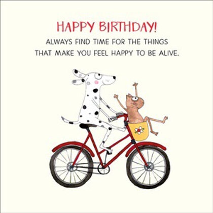 Twigseed card - Happy Birthday always find time