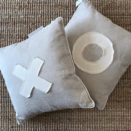 Natural Cushions by Holiday Home