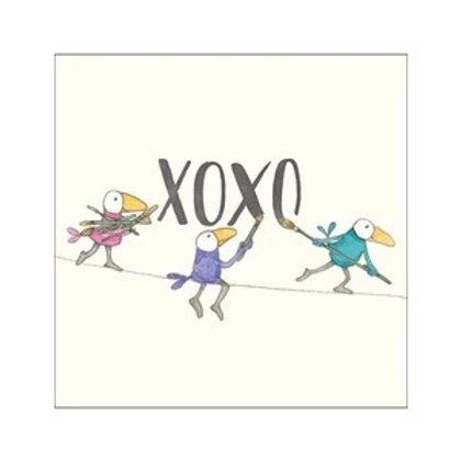 Twigseed card -  XOXO