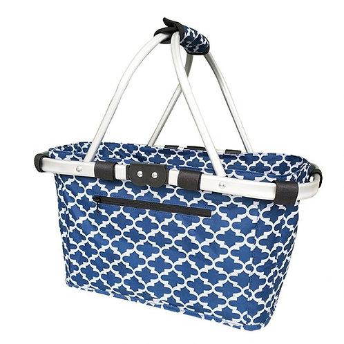 Shop & Go Carry Basket Moroccan Navy