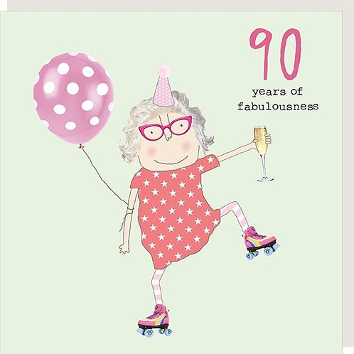Card - 90 Years Of Fabulousness