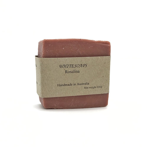 Rosaline Soap Bar - By White Soaps