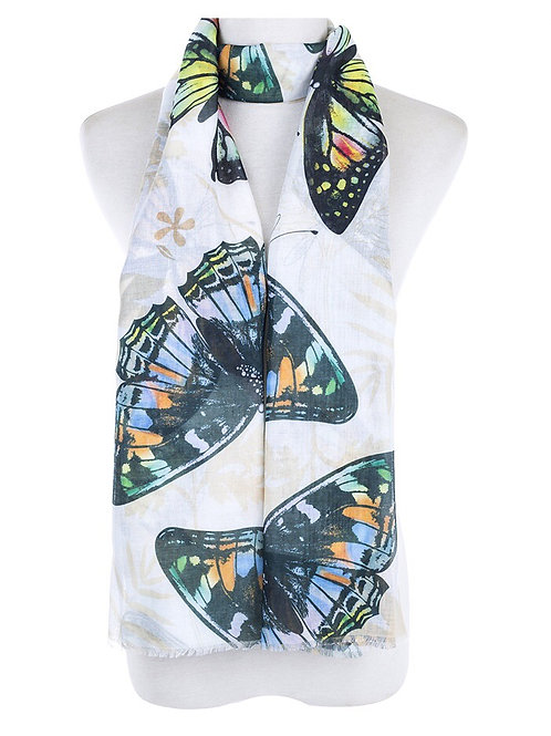 Scarf - Butterfly Delight