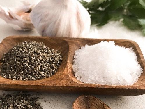 Acacia Salt and Pepper Dish