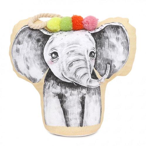 Baby Elephant Doorstop
