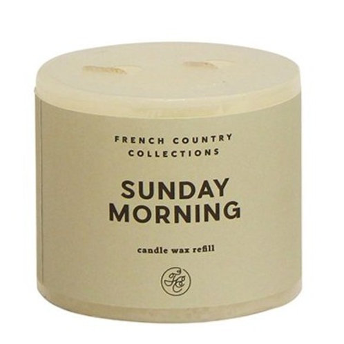 Sunday Morning Candle Refill by French Country Collections