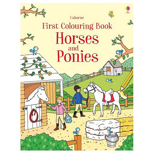 First Colouring Book - Horses & Ponies