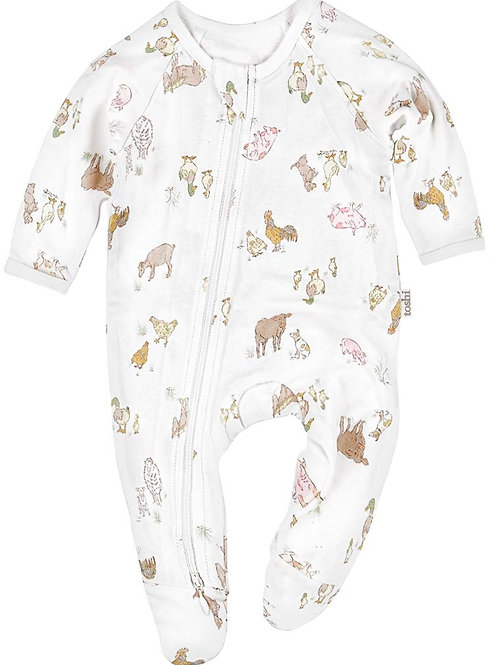 Farmers Family Onesie by Toshi