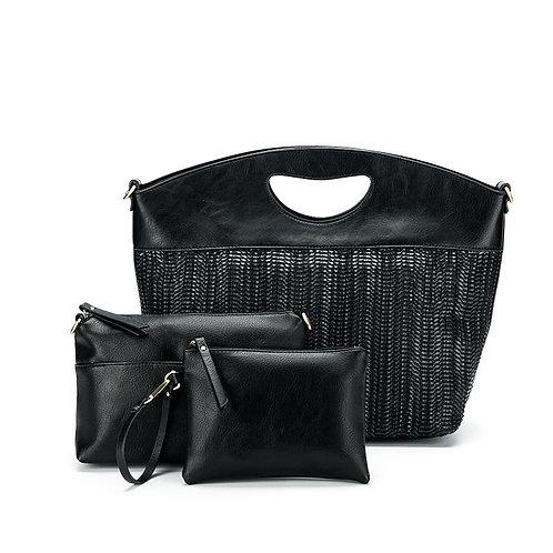 Suma 3 Piece Bag Set by Black Cavair