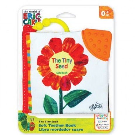 Soft Teether Book - The Tiny Seed