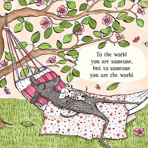 Twigseed card -  To Someone You Are The World