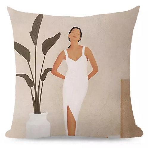 Cushion Lady Pose