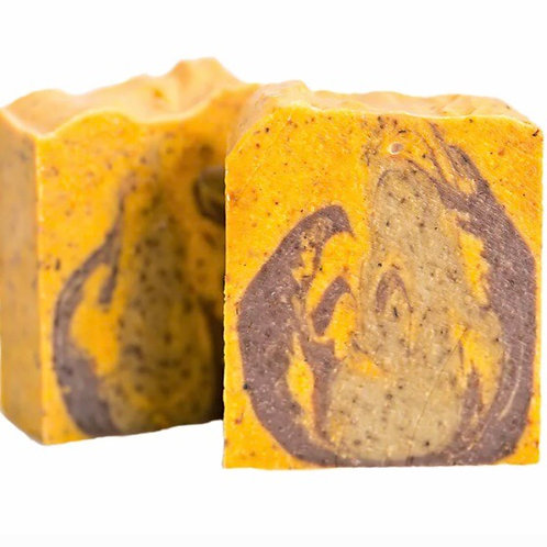Sapon Soap - Sandalwood and Citrus Scrub