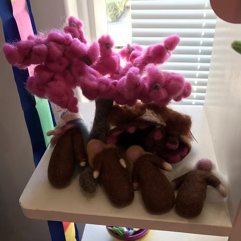 Cherry Blossum family