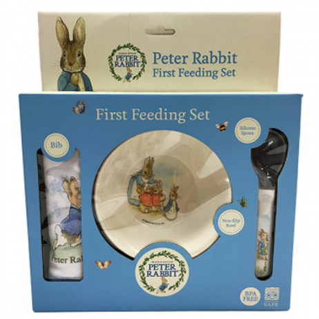 First Feeding Set - Peter Rabbit