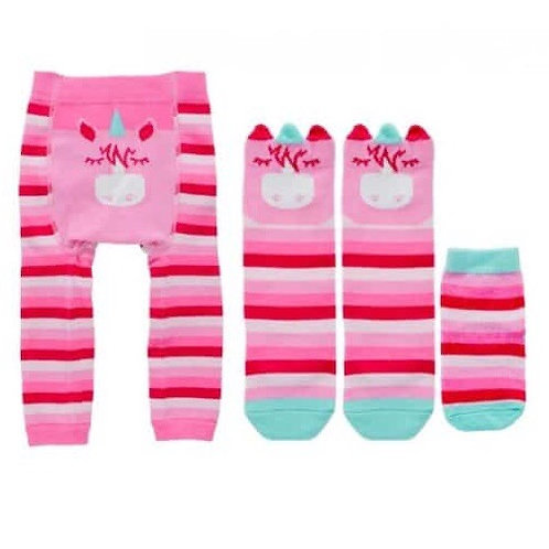 Baby Sock Set - Unicorn
