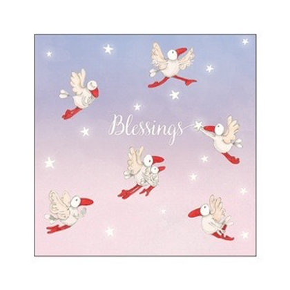 Twigseed card - Blessings