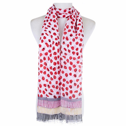 Scarf - Nuggets Red