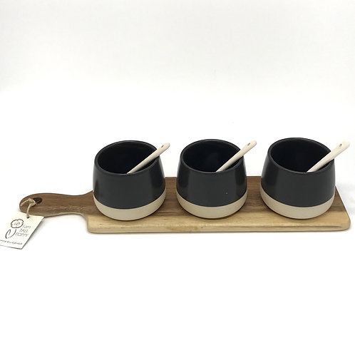 Host Bowl And Spoon Paddle Set