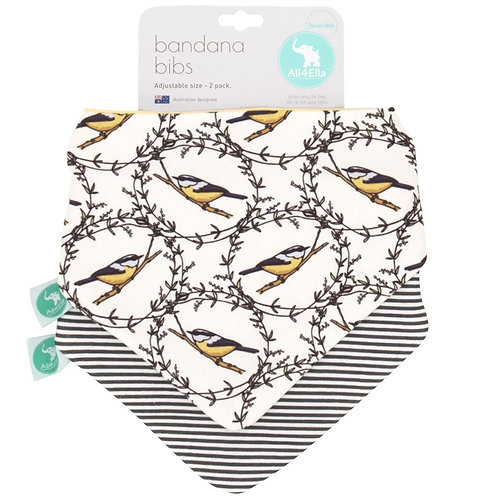 Bandana Bib 2pk - Bird