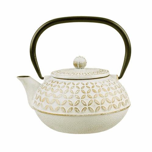 Cast Iron Teapot - Gold Leaf  800ml