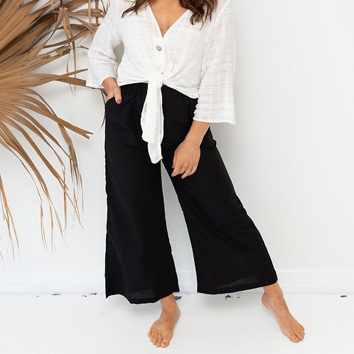 The Arabella Pant - Black