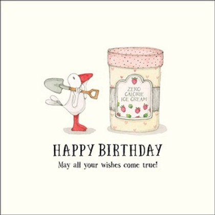 Twigseed card - Happy Birthday may all your wishes come true