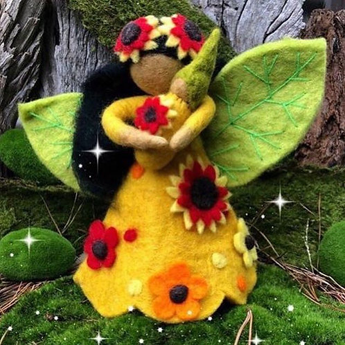 Sunflower Fairy Mother (Large)