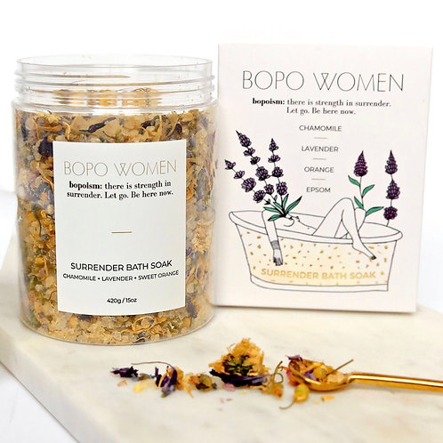Surrender Bath Soak by Bopo Women