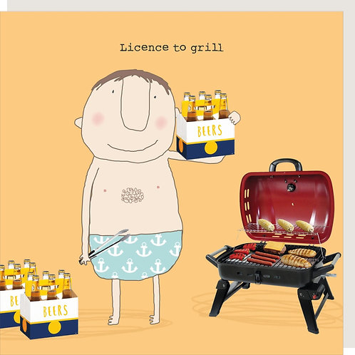 Card - Licence To Grill