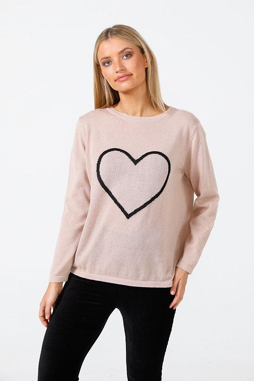 Petra Heart Knit by Brave+True