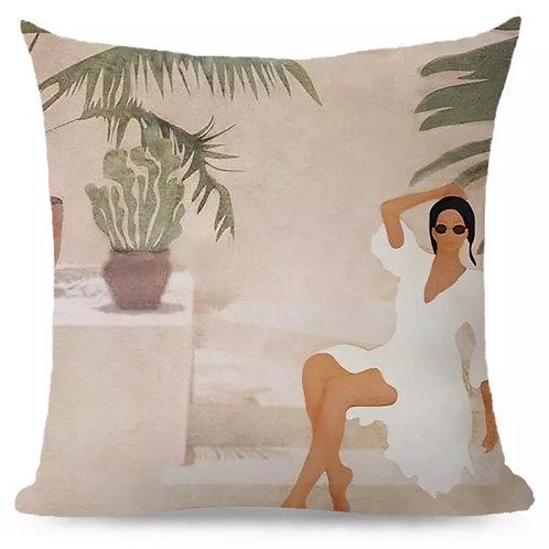 Cushion Lady Chill