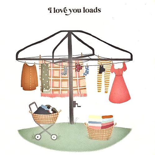 Card - Love You Loads
