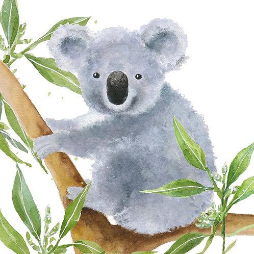 Koala Napkin Set