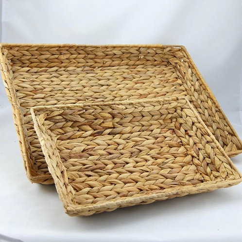 Small Water Hyacinth Tray