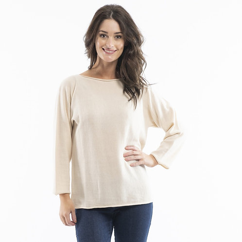 Essential Long Sleeve Top by Orientique
