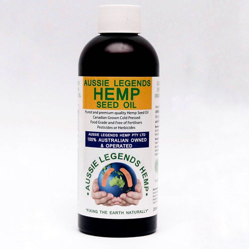 Aussie Legends Hemp Seed Oil