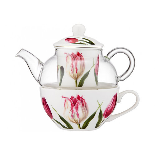 Floral Symphony Tea for One