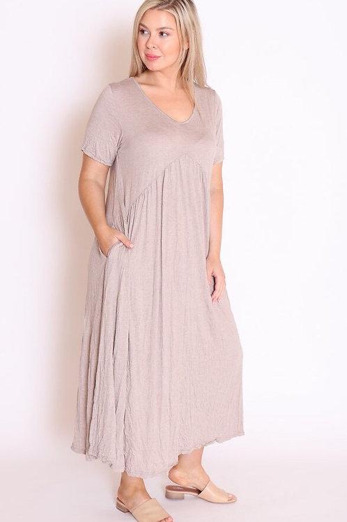 V front dress