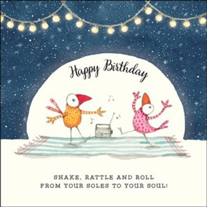 Twigseed card- Happy Birthday shake rattle and roll