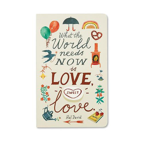 Love Sweet Love - Write Now Journal