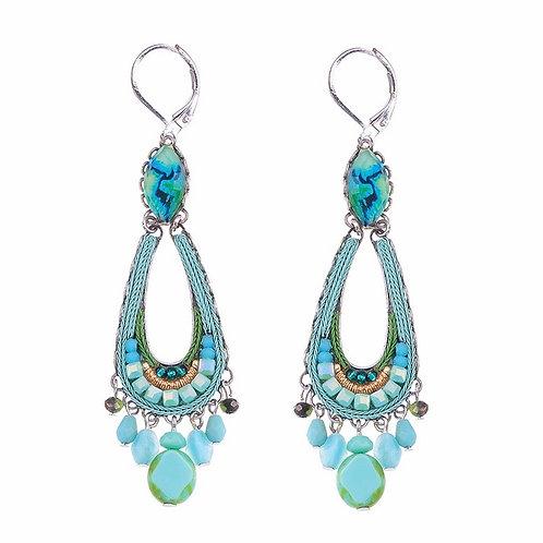 Clear Water Cleo Earrings