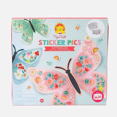 Sticker Pics - Butterflies