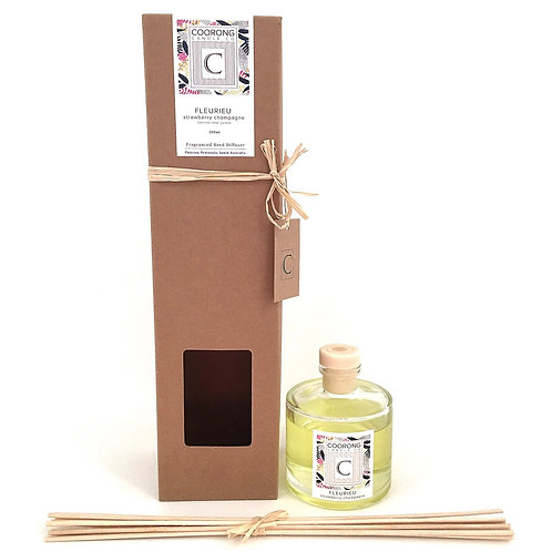 'Fleurieu' Strawberry Champagne Reed Diffuser