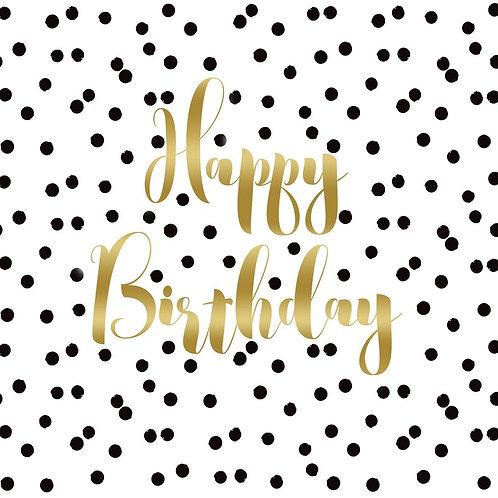 Happy Birthday Napkin Set
